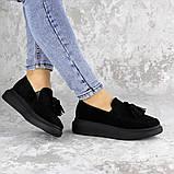Туфли женские черные Pansy 2142 (37 размер), фото 4