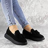 Туфли женские черные Pansy 2142 (37 размер), фото 5