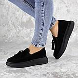 Туфли женские черные Pansy 2142 (37 размер), фото 6