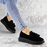 Туфли женские черные Pansy 2142 (37 размер), фото 7