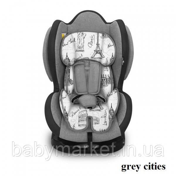 Автокресло Lorelli SIGMA + SPS (0-25кг) (grey cities)