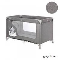 Манеж Lorelli MOONLIGHT 1L (grey luxe), фото 1