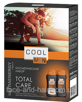 Косметический набор Cool Men Total Care Ultra Energy