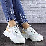 Женские белые кроссовки Ferris 1749 (36 размер), фото 2