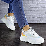 Женские белые кроссовки Ferris 1749 (36 размер), фото 5