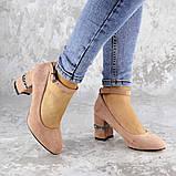 Женские туфли на каблуке розовые Bruno 2183 (36 размер), фото 2