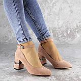 Женские туфли на каблуке розовые Bruno 2183 (36 размер), фото 7