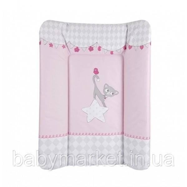 Пеленатор Lorelli SOFT MAT 50x70 pink