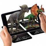 Обучающие карты Dinosaur 4D с дополненной реальностью Динозавры 4D, фото 3
