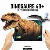 Обучающие карты Dinosaur 4D с дополненной реальностью Динозавры 4D, фото 4