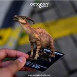 Обучающие карты Dinosaur 4D с дополненной реальностью Динозавры 4D, фото 7