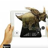 Обучающие карты Dinosaur 4D с дополненной реальностью Динозавры 4D, фото 9