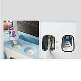 Органайзер диспенсер держатель для ванной Bathroom Toothbrush Holder Wall Mount на стену (4 стакана), фото 3