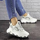 Женские белые кроссовки Lark 1667 (36 размер), фото 4