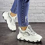 Женские белые кроссовки Lark 1667 (36 размер), фото 5
