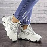 Женские белые кроссовки Lark 1667 (36 размер), фото 7