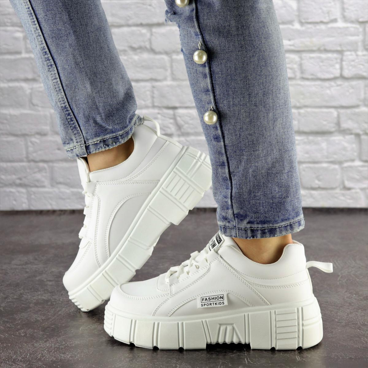 Женские белые кроссовки Lola 1298 (38 размер)