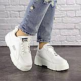 Женские белые кроссовки Lola 1298 (38 размер), фото 4