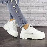 Женские белые кроссовки Lola 1298 (38 размер), фото 6