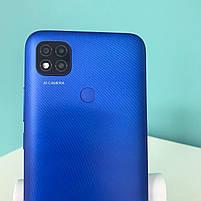 БУ Смартфон Xiaomi Redmi 9C 3/64GB Twilight Blue, фото 2