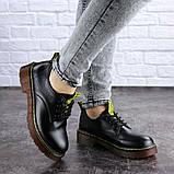Женские туфли на каблуке черные Ron 1949 (36 размер), фото 2