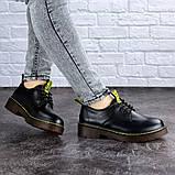Женские туфли на каблуке черные Ron 1949 (36 размер), фото 5