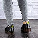 Женские туфли на каблуке черные Ron 1949 (36 размер), фото 7
