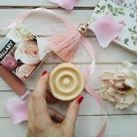 Твердий парфумований крем для тіла Hillary Parfumed Oil Bars Flowers SKL13-131373