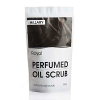 Скраб для тіла парфумований Hillary Perfumed Oil Scrub Royal, 200 гр SKL13-131380