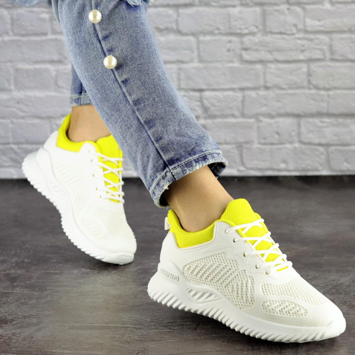 Женские белые кроссовки Molly 1510 (36 размер)