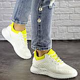 Женские белые кроссовки Molly 1510 (36 размер), фото 2