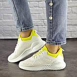 Женские белые кроссовки Molly 1510 (36 размер), фото 3