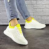 Женские белые кроссовки Molly 1510 (36 размер), фото 5