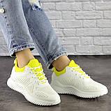 Женские белые кроссовки Molly 1510 (36 размер), фото 6