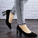 Женские туфли на каблуке черные Vinnie 2011 (36 размер), фото 2