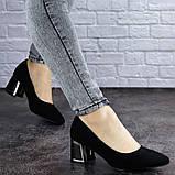Женские туфли на каблуке черные Vinnie 2011 (36 размер), фото 5