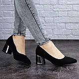 Женские туфли на каблуке черные Vinnie 2011 (36 размер), фото 6