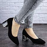 Женские туфли на каблуке черные Vinnie 2011 (36 размер), фото 7