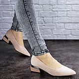 Женские туфли пудровые Tally 2026 (36 размер), фото 2