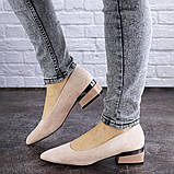 Женские туфли пудровые Tally 2026 (36 размер), фото 4