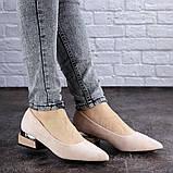 Женские туфли пудровые Tally 2026 (36 размер), фото 6