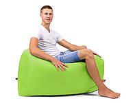 Надувной лежак, шезлонг, диван, мешок, матрас Ламзак Lamzac + Сумка для переноски Салатовый