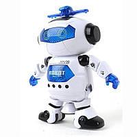 Танцующий светящийся робот Dancing Robot / детская игрушка музыкальный робот