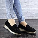 Женские туфли черные Boot 1923 (36 размер), фото 6