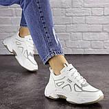Женские белые кроссовки Yandy 1682 (36 размер), фото 2