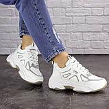 Женские белые кроссовки Yandy 1682 (36 размер), фото 3