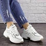 Женские белые кроссовки Yandy 1682 (36 размер), фото 4