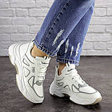 Женские белые кроссовки Yandy 1682 (36 размер), фото 6