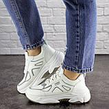 Женские белые кроссовки Yandy 1682 (36 размер), фото 7