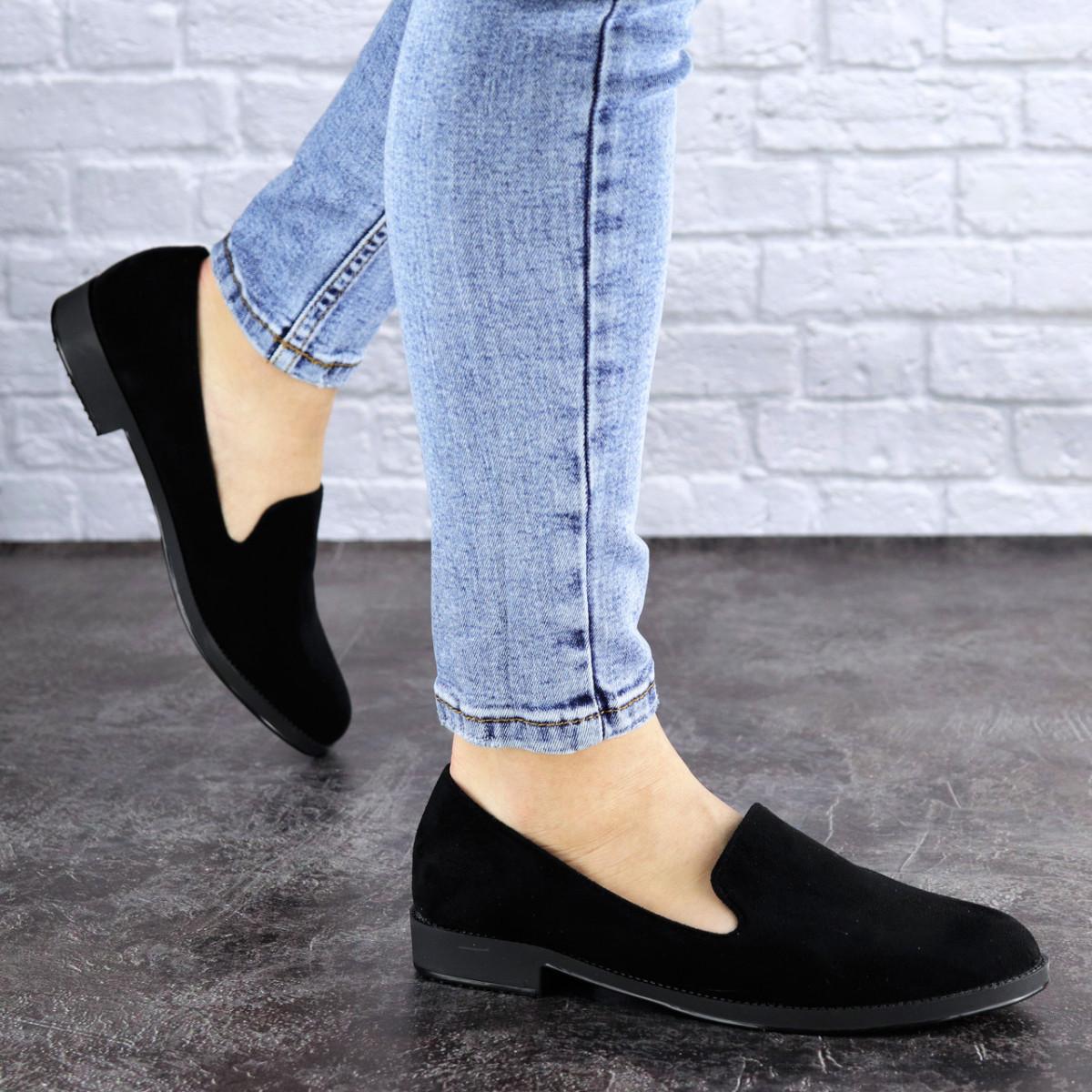 Женские туфли черные Elmo 1939 (36 размер)